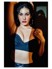 Amyra Dastur Sultry Poses In Shiny Dress 10