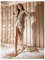 Amyra Dastur Sultry Poses In Shiny Dress 2