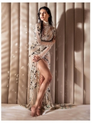 Amyra Dastur Sultry Poses In Shiny Dress 4