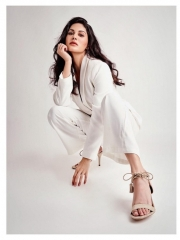 Amyra Dastur Sultry Poses In Shiny Dress 8