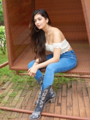 Digangana Suryavanshi Sizziling White Dress 2